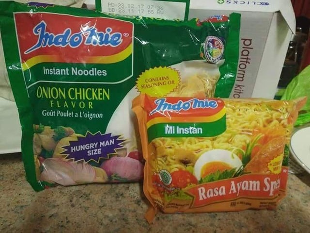 indomie hungry man