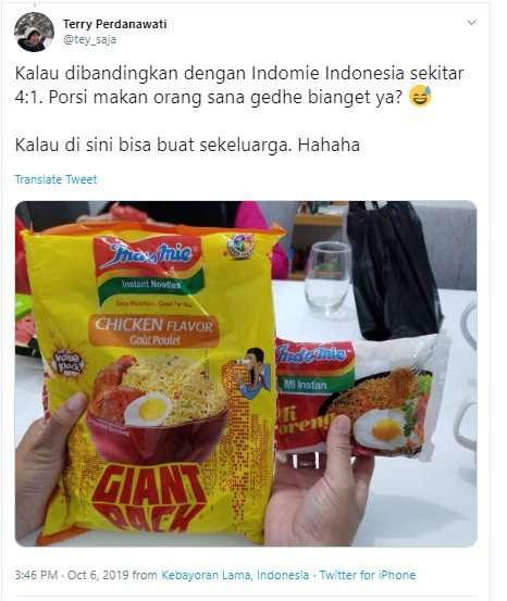 indomie giant pack